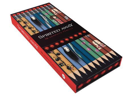 SPIRITED AWAY 10PC BOXED PENCIL SET (C: 1-1-2)