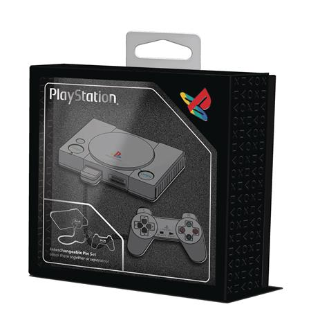 PLAYSTATION COLLECTION PLAYSTATION 1 ENAMEL PIN (C: 0-1-2)