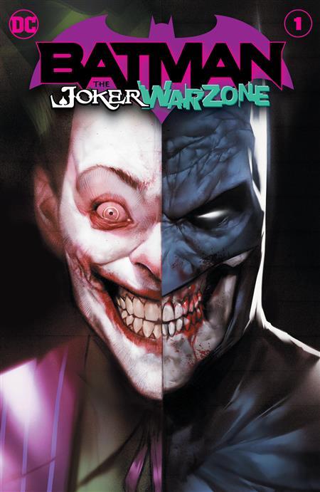 BATMAN THE JOKER WAR ZONE #1 (ONE SHOT) CVR A BEN OLIVER (JOKER WAR)