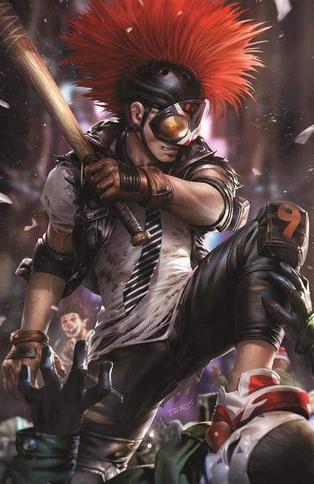 BATMAN #99 CVR B DERRICK CHEW CARD STOCK VAR (JOKER WAR)