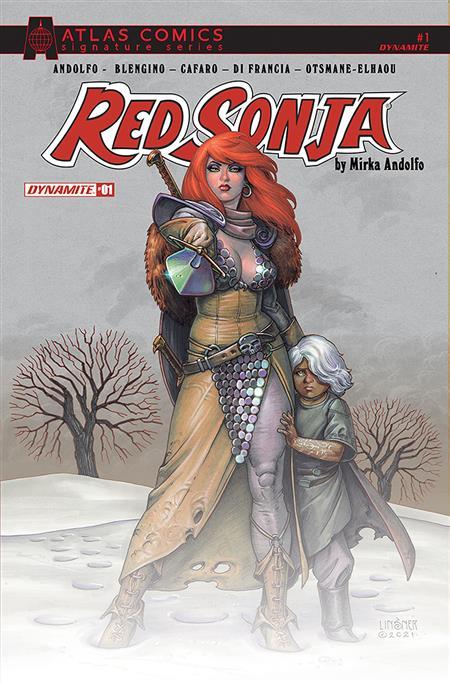 RED SONJA (2021) #1 CVR N ATLAS SGN ED