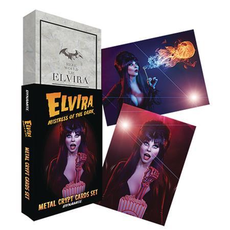 ELVIRA METAL CRYPT CARDS (C: 0-1-2)