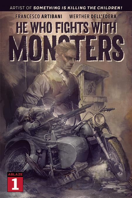 HE WHO FIGHTS WITH MONSTERS #1 CVR C QUINTANA (MR) (C: 1-0-0