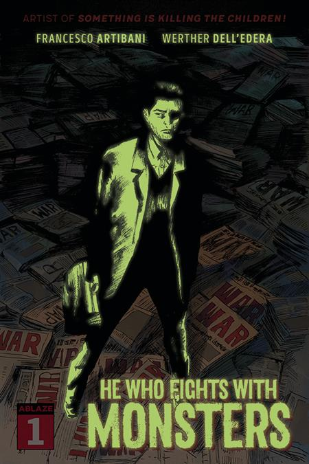 HE WHO FIGHTS WITH MONSTERS #1 CVR G 20 COPY GLOW IN DARK (M