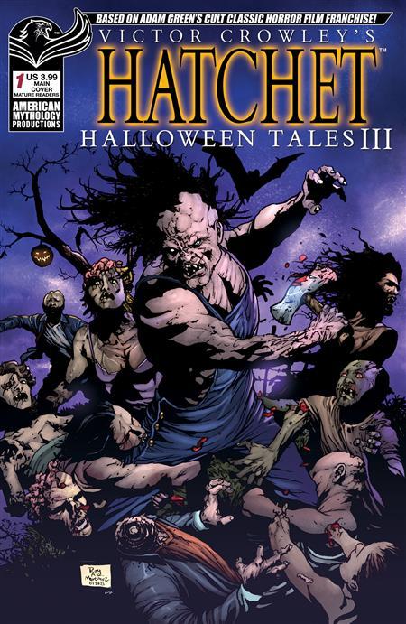 VICTOR CROWLEY HATCHET HALLOWEEN III #1 CVR A DEAD RISE (MR)