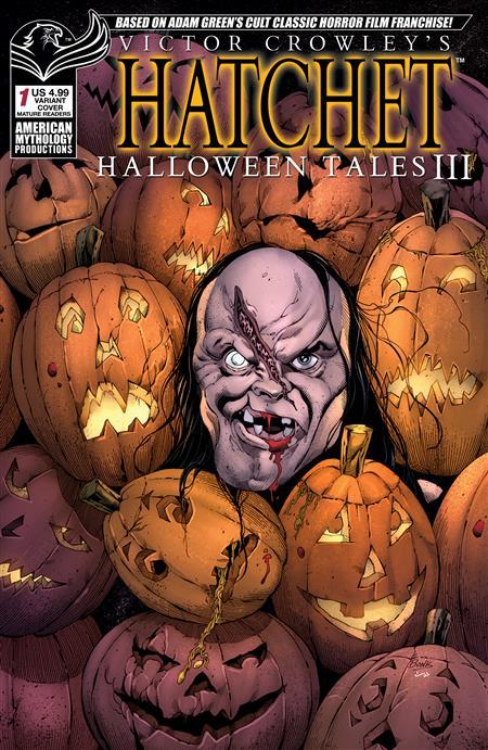 VICTOR CROWLEY HATCHET HALLOWEEN III #1 CVR B JACKS BACK (MR