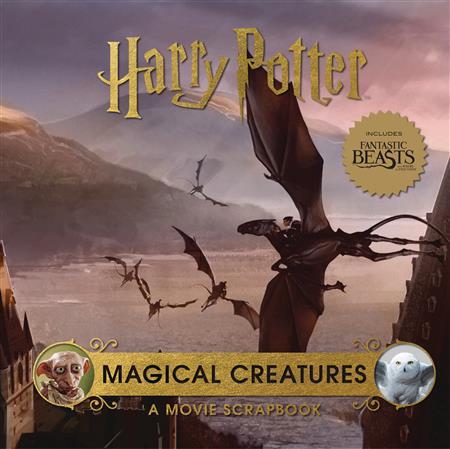 HARRY POTTER MAGICAL CREATURES MOVIE SCRAPBOOK (C: 0-1-1)