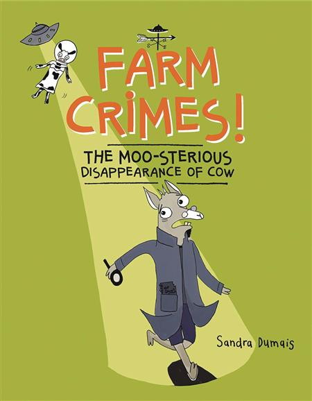 FARM CRIMES MOO-STERIOUS DISAPPEARANCE OF COW GN (C: 0-1-0)