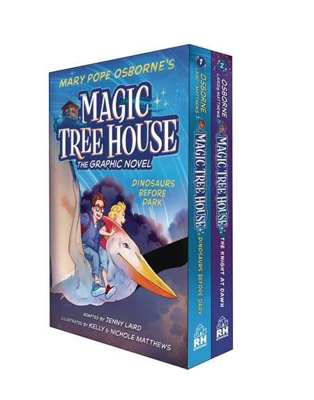 MAGIC TREE HOUSE BOX SET GN VOL 1 & 2 (C: 0-1-1)