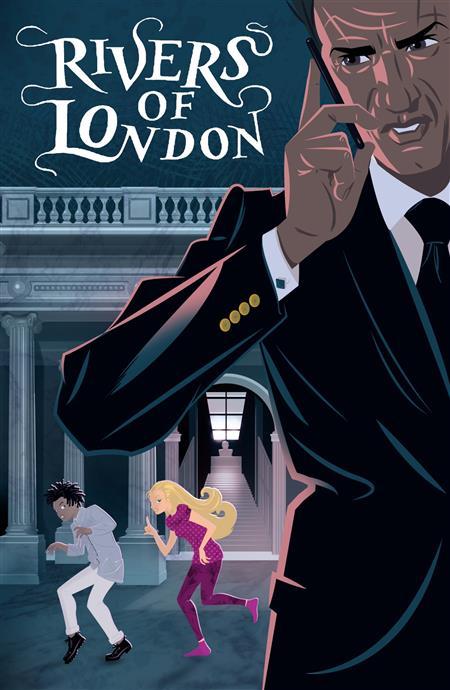 MONDAY MONDAY RIVERS OF LONDON #3 CVR A RIAN HUGHES (MR)