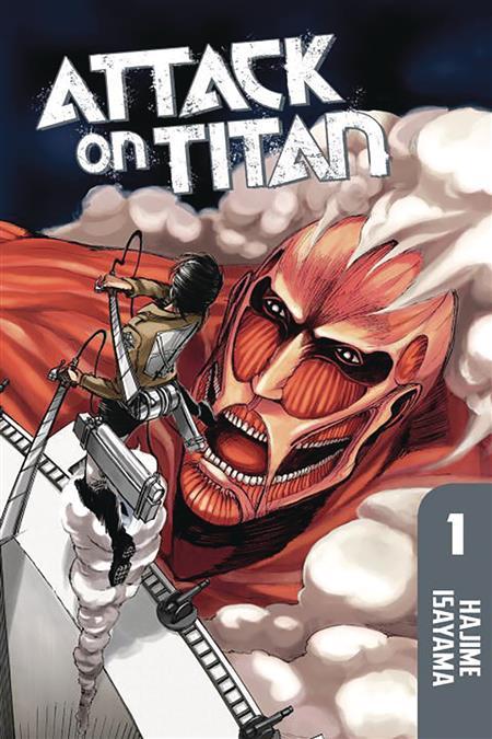 ATTACK ON TITAN OMNIBUS TP VOL 01 VOL 1-3 (MR) (C: 1-1-0)