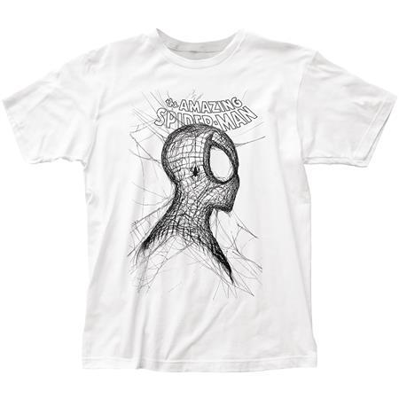 SPIDER-MAN WEBHEAD PX WHITE T/S LG (C: 1-1-2)