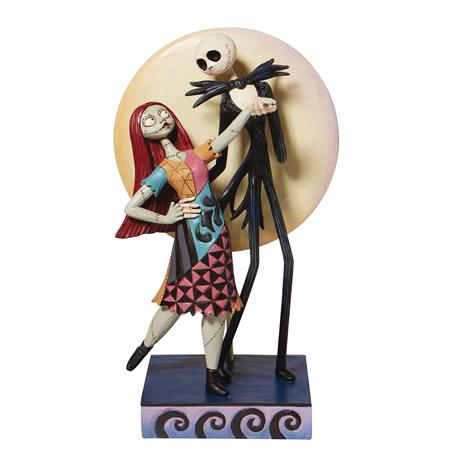 DISNEY TRADITIONS NBX JACK AND SALLY ROMANCE 9IN STATUE (C: