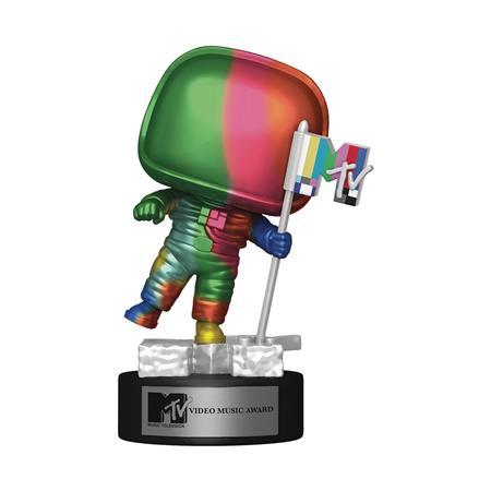 POP AD ICONS MTV MOON PERSON RAINBOW VINYL FIGURE (C: 1-1-2)