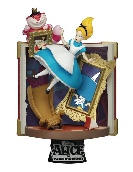 DISNEY STORY BOOK SER DS-077 ALICE D-STAGE 6IN STATUE (C: 1-