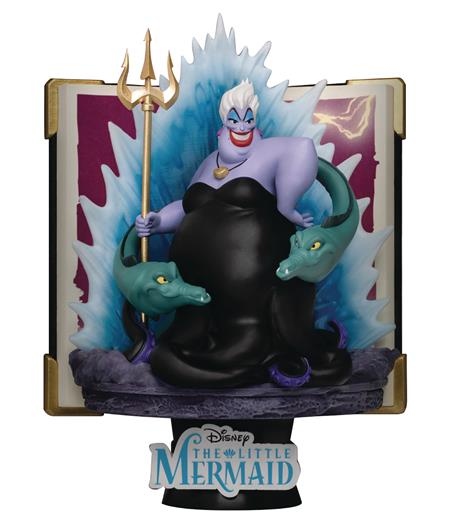 DISNEY STORY BOOK SER DS-080 URSULA D-STAGE 6IN STATUE (C: 1