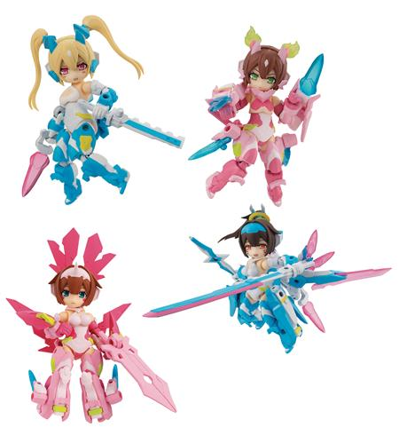 DESKTOP ARMY MEGAMI DEVICE ASURA 4PC DISPLAY ANOTHER COLOR (