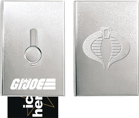 GI JOE GI JOE X COBRA BUSINESS CARD HOLDER (C: 1-1-2)