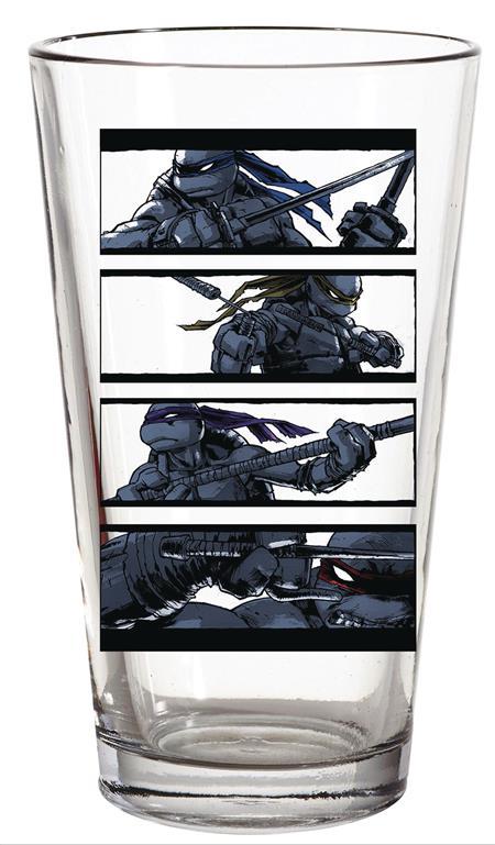 TMNT BROTHERS STRIPE PX PINT GLASS (C: 1-1-2)