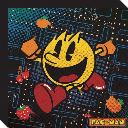 PAC-MAN STRETCHED CANVAS WALL ART (C: 1-1-2)