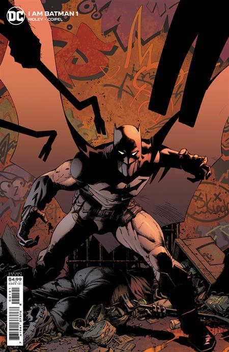 I AM BATMAN #1 CVR B GREG CAPULLO CARD STOCK VAR