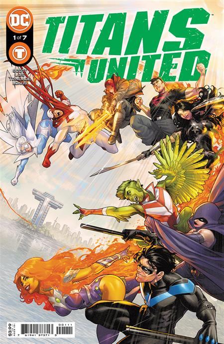 TITANS UNITED #1 (OF 7) CVR A JAMAL CAMPBELL