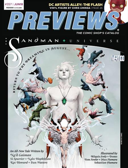 PREVIEWS #359 AUGUST 2018 * Includes a FREE DC Previews and Image Plus