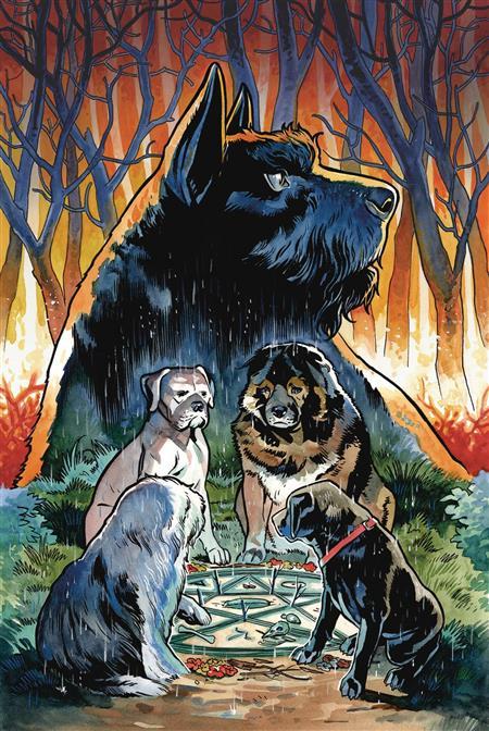 BEASTS OF BURDEN #1 (OF 4) WISE DOGS & ELDRITCH MEN