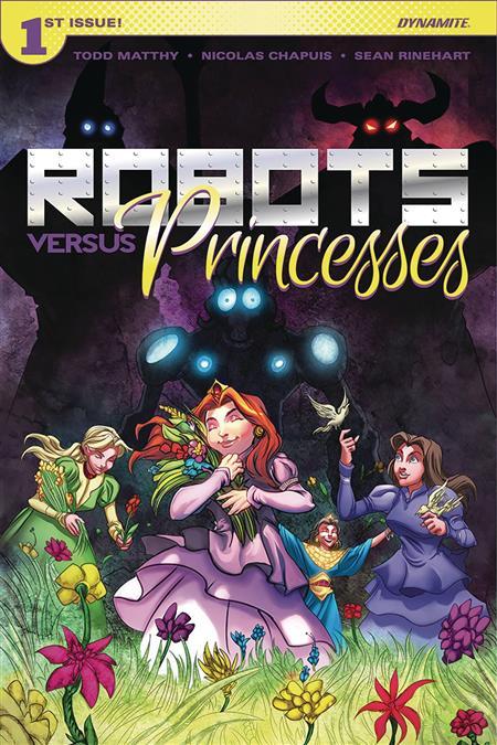 ROBOTS VS PRINCESSES #1 CVR A CHAPUIS