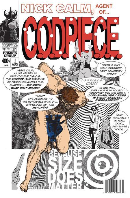 Nick Calm Agent of Codpiece - Discount Comic Book Service