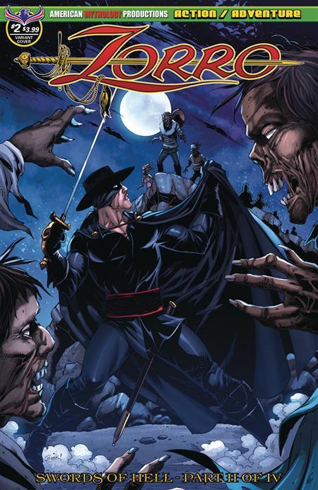 Zorro Swords Of Hell 2 Bonk The Dead Rise Cvr
