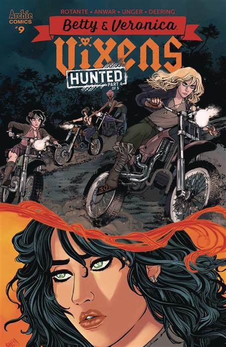 BETTY AND VERONICA VIXENS #9 CVR A ANWAR