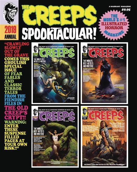 THE CREEPS ANNUAL #1 2019 SPOOKTACULAR (MR)