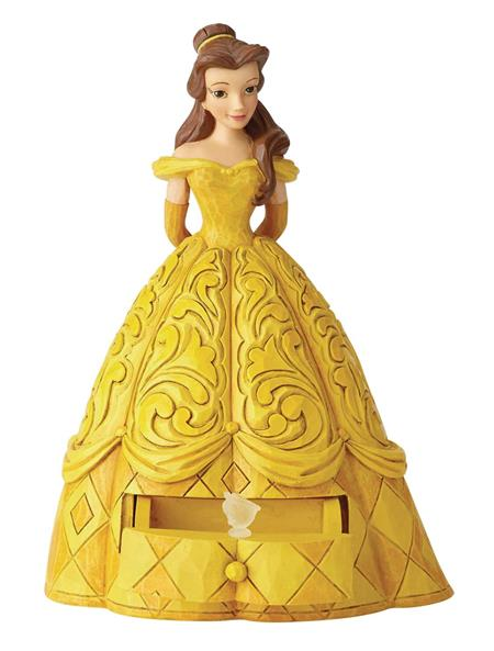 DISNEY TRADITIONS BELLE FIGURE WITH CHIP CHARM (C: 1-1-2)