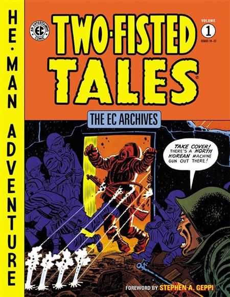 Ec Archives Two Fisted Tales HC Vol 01 - Discount Comic Book Service