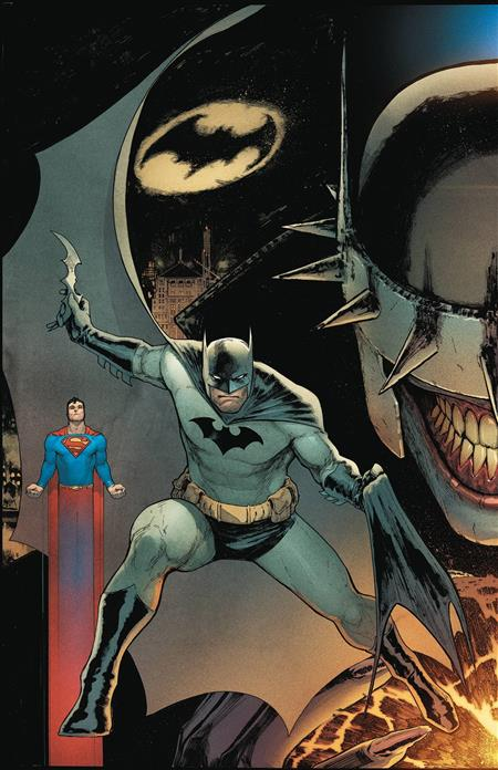 BATMAN SUPERMAN #1 BATMAN COVER