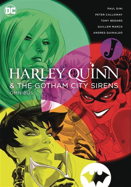 HARLEY QUINN & THE GOTHAM CITY SIRENS OMNI HC NEW ED