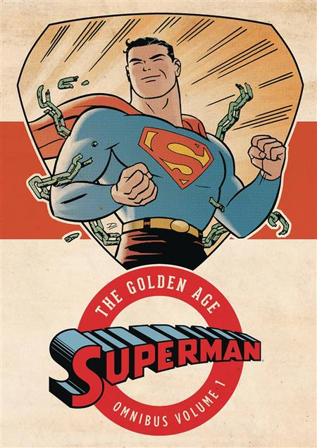 SUPERMAN THE GOLDEN AGE OMNIBUS HC VOL 01 NEW ED
