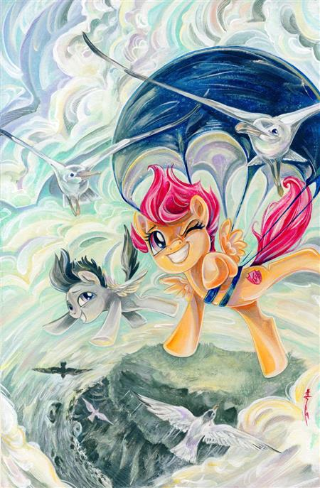 MY LITTLE PONY FRIENDSHIP IS MAGIC #81 CVR A BALDARI (C: 1-0