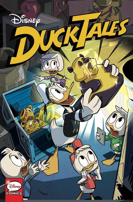 DUCKTALES SILENCE & SCIENCE #1 (OF 3) CVR A GHIGHLIONE (C: 1