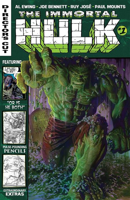 IMMORTAL HULK DIRECTORS CUT #1 (OF 6)