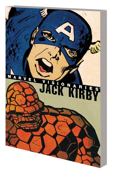 MARVEL VISIONARIES TP JACK KIRBY