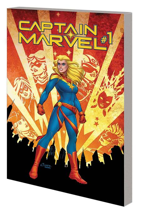 CAPTAIN MARVEL TP VOL 01 RE-ENTRY