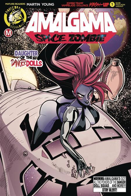 AMALGAMA SPACE ZOMBIE #1 CVR C MACCAGNI (MR)