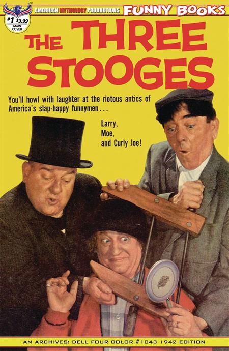 THREE STOOGES FOUR COLOR 1942 #1 MAIN CVR