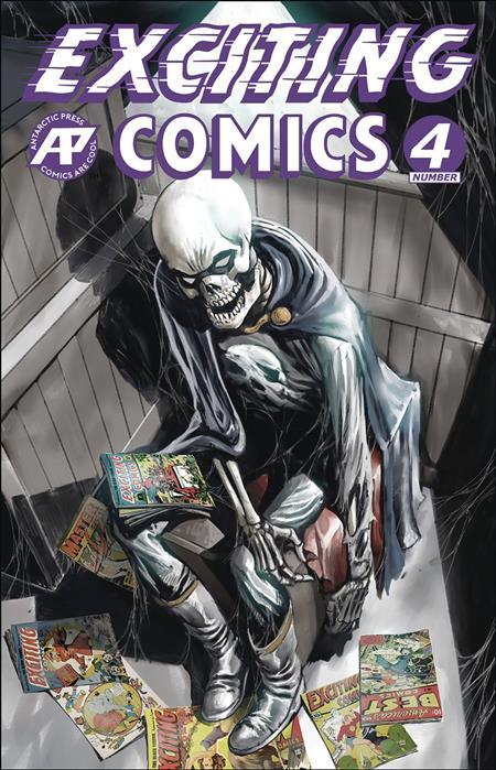 EXCITING COMICS #4 CVR A