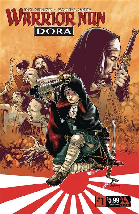 WARRIOR NUN DORA #1 FEUDAL AGE