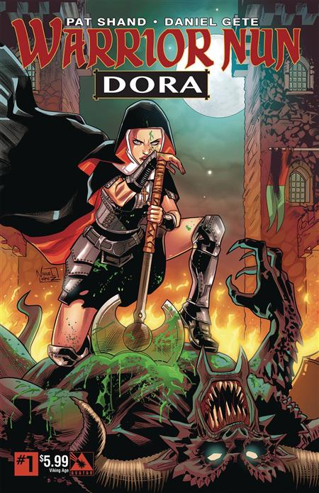 Warrior Nun Dora #1 Viking Age - Discount Comic Book Service