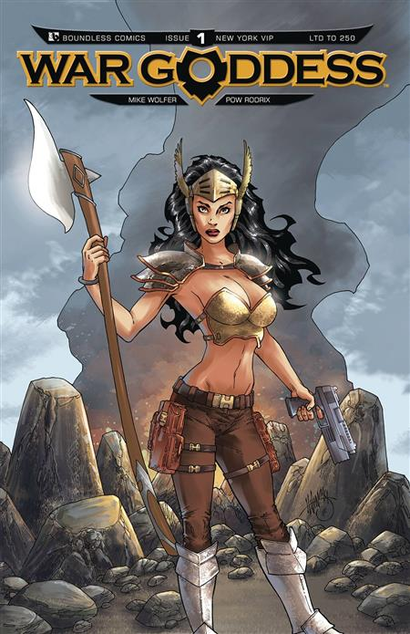 WAR GODDESS #1 NYCC VIP (MR)