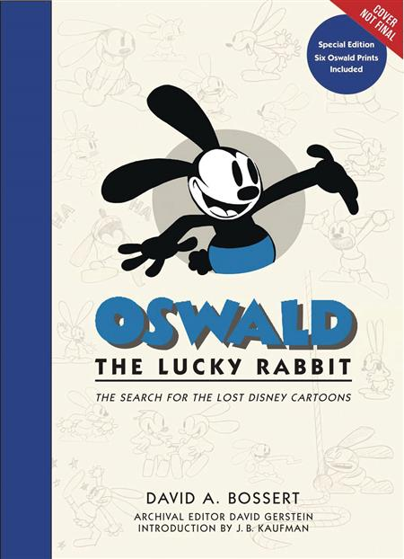 OSWALD LUCKY RABBIT SEARCH LOST DISNEY CARTOONS LTD ED (C: 0